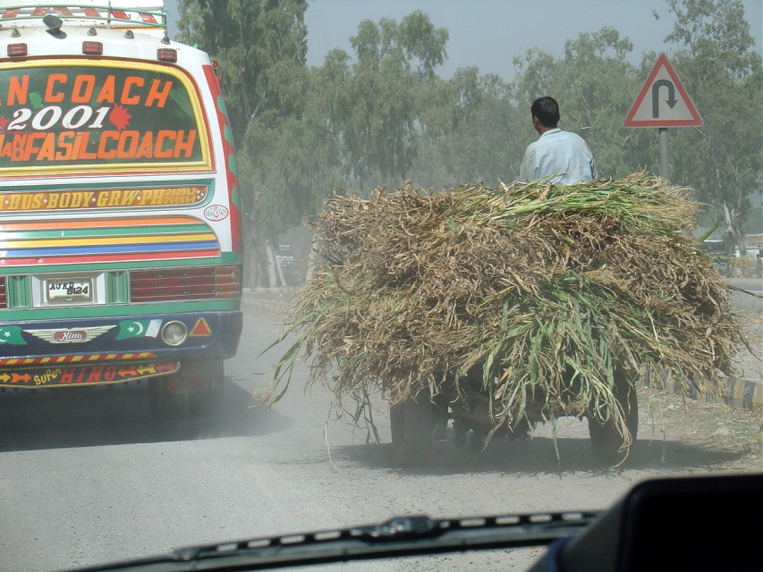 Coach and Cart, GT Road Pakistan