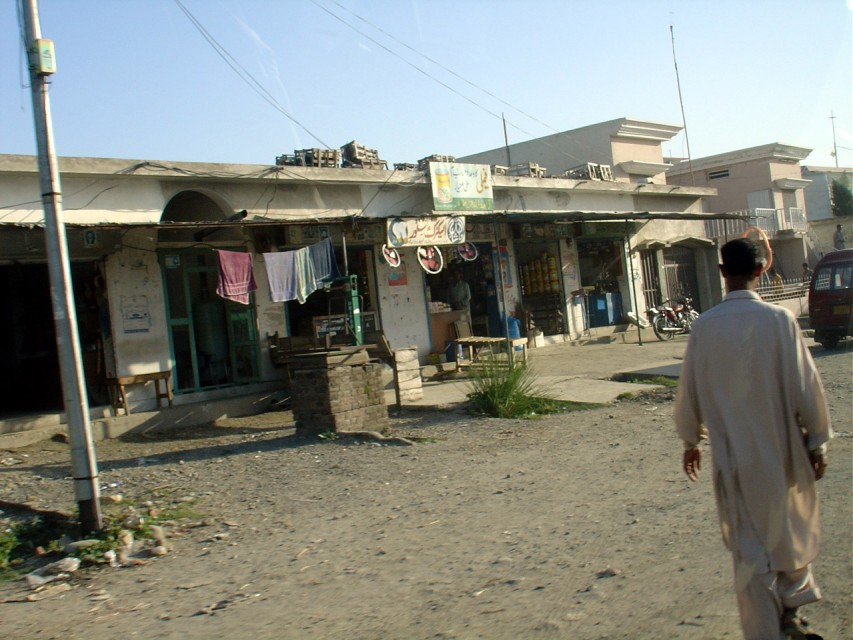 Market in Northwest Frontier Province, Pakistan