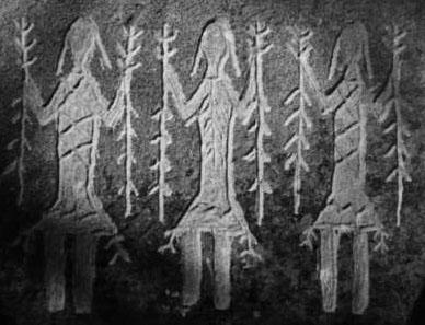 petroglyph-figures