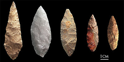 Early Human Artefacts in Blombos Cave, South Africa