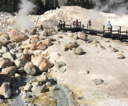 Mt. Lassen Bumpass Hell Fieldwork